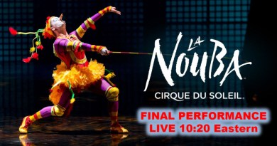 The Disney Nerds Podcast - Watch the Final La Nouba Performance live December 31. 2017 10:20PM