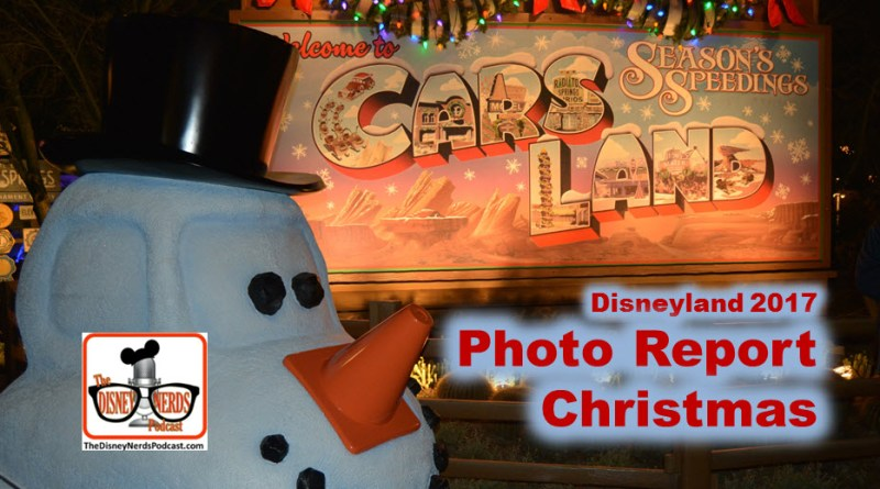 The Disney Nerds Podcast Disneyland Christmas Photo Report 2017