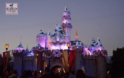 Sleeping Beauty Castle for the Holiday Season