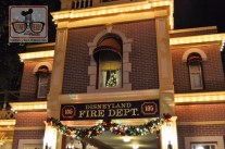 The candle in Walt's apartment above the firehouse is replaced with a Christmas tree - and yest - it's always on.