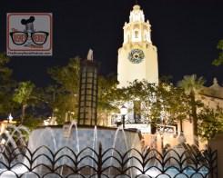 Christmas Decorations on Cathy Circle - Disney California Adventure