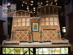 Gingerbread House in the Lobby of the Grand Californian
