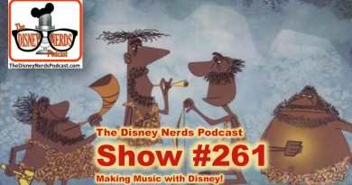 The Disney Nerds Podcast Show #261: Making Music with Disney