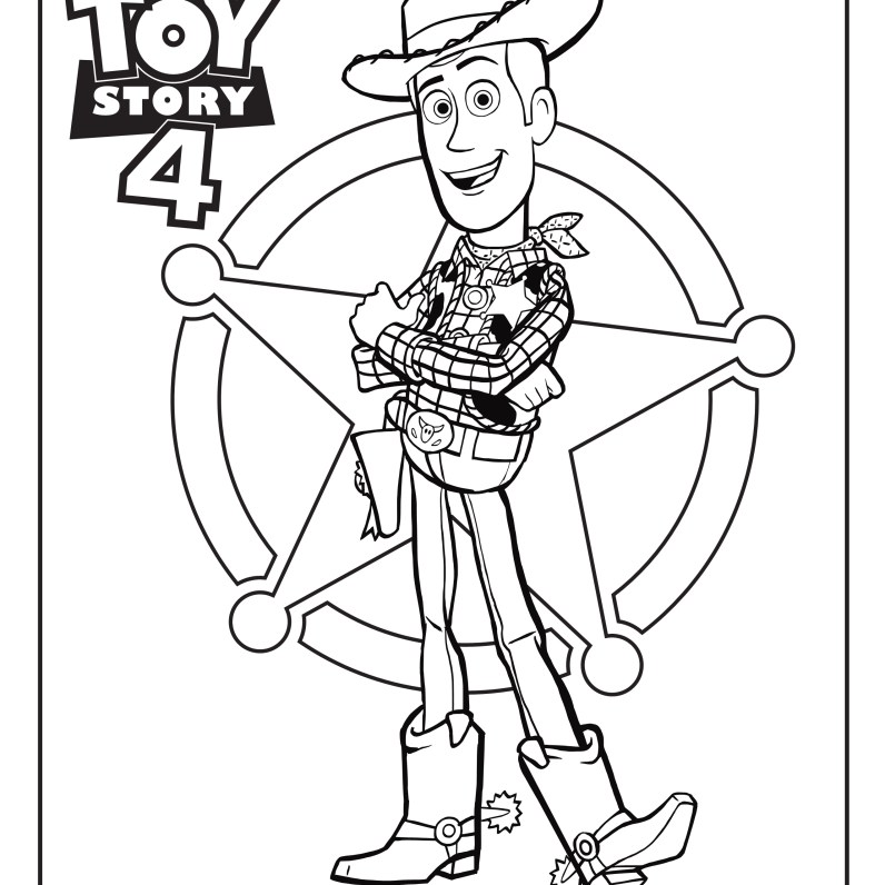Toy Story - Free printable Coloring pages for kids | 796x796