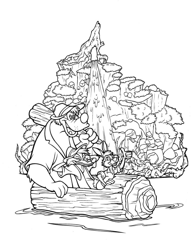Walt Disney World Coloring Pages The Disney Nerds Podcast