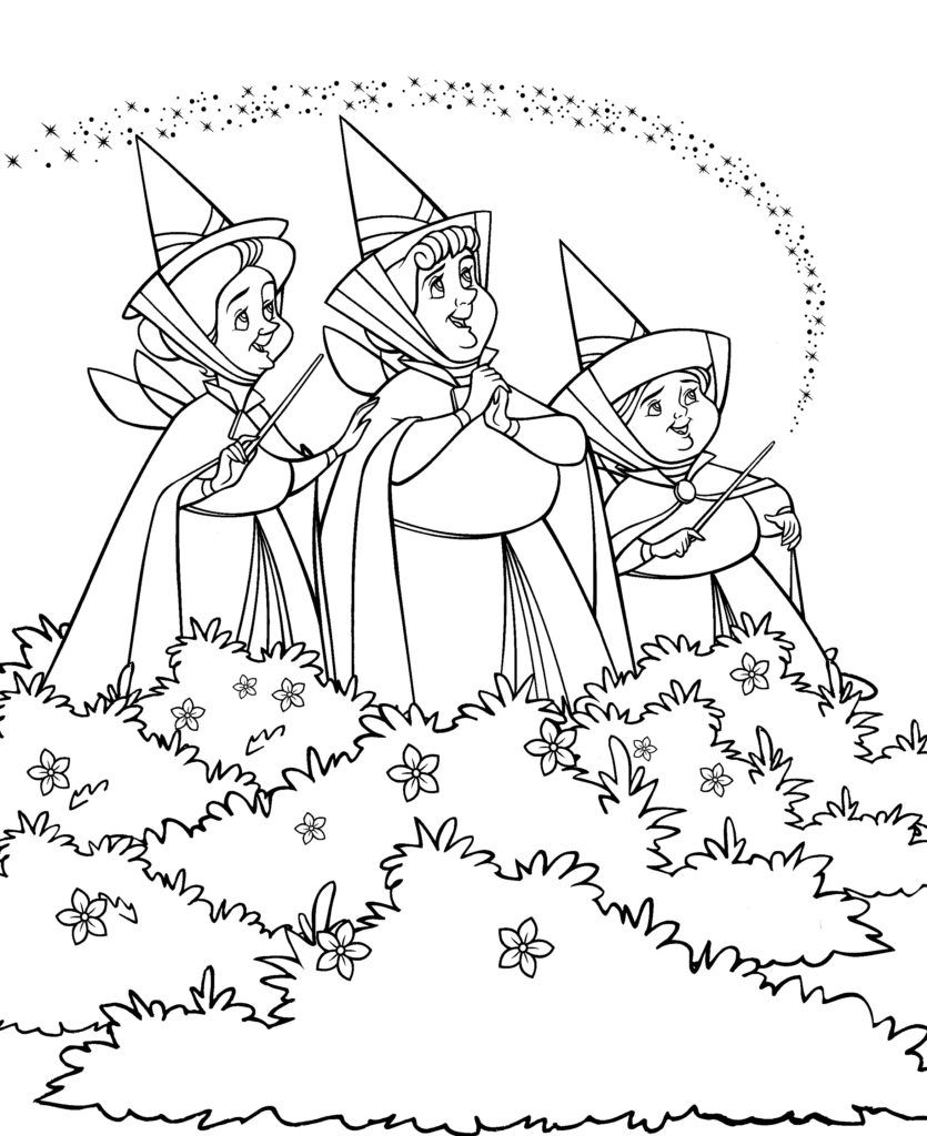 Walt Disney World Coloring Pages — The Disney Nerds Podcast
