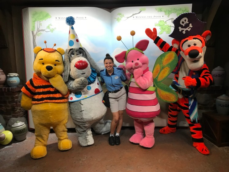 Disney College Program character attendant