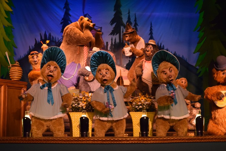 attractions aren't rides country bear jamboree