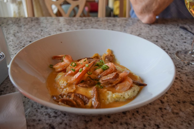 Grand Floridian Cafe Shrimp and Grits