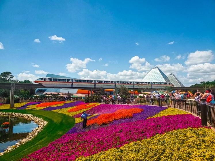 Epcot International Flower Garden Festival Topiaries
