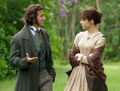 Darwin (Ian Cusick) & his wife Emma (Frances O'Connor)