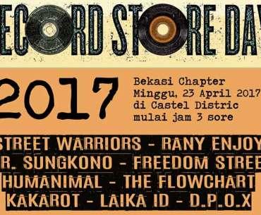 Record Store Day 2017 Bekasi