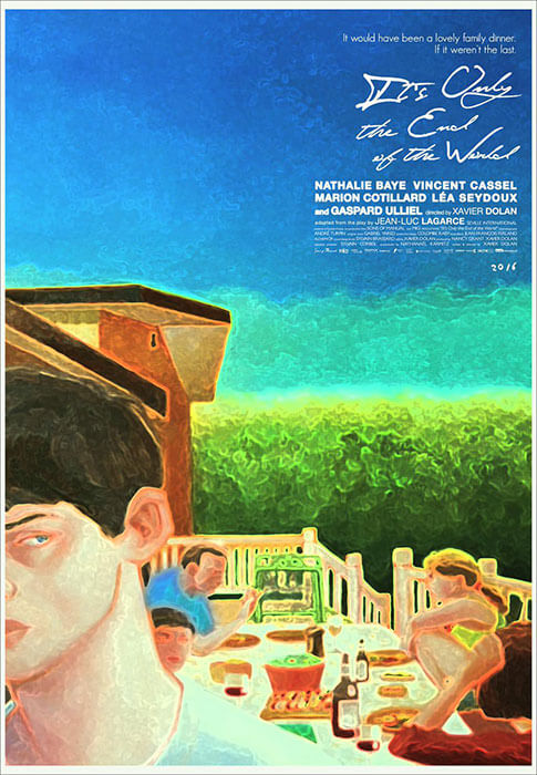 Poster It's Only the End of the World Juste La Fin du Monde by Xavier Dolan