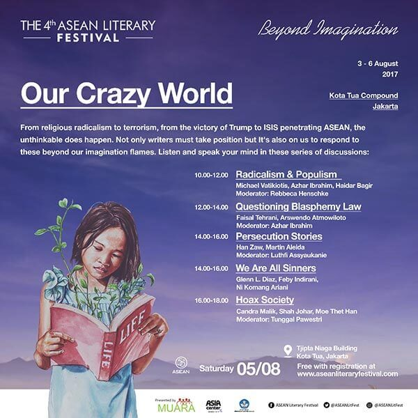 ASEAN Literary Festival - Our Crazy World