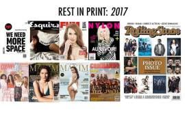 Rest In Print Media Cetak Yang Tutup Usia di Tahun 2017