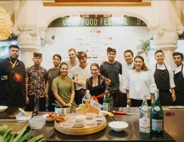 UFF 2018 Speakers and Kitchen Stage Demo