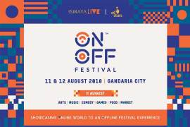 ON OFF Festival 2018 Ismaya