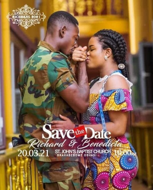 Genesis Of The Obuasi Wedding Saga Agu Richard And His Wife Benedicta And Comfort Bliss | Photos + Videos