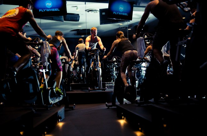 FlyWheel Sports Cycling Class
