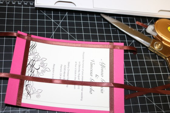 Ribbon glueing