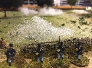 View from the Union skirmishers.