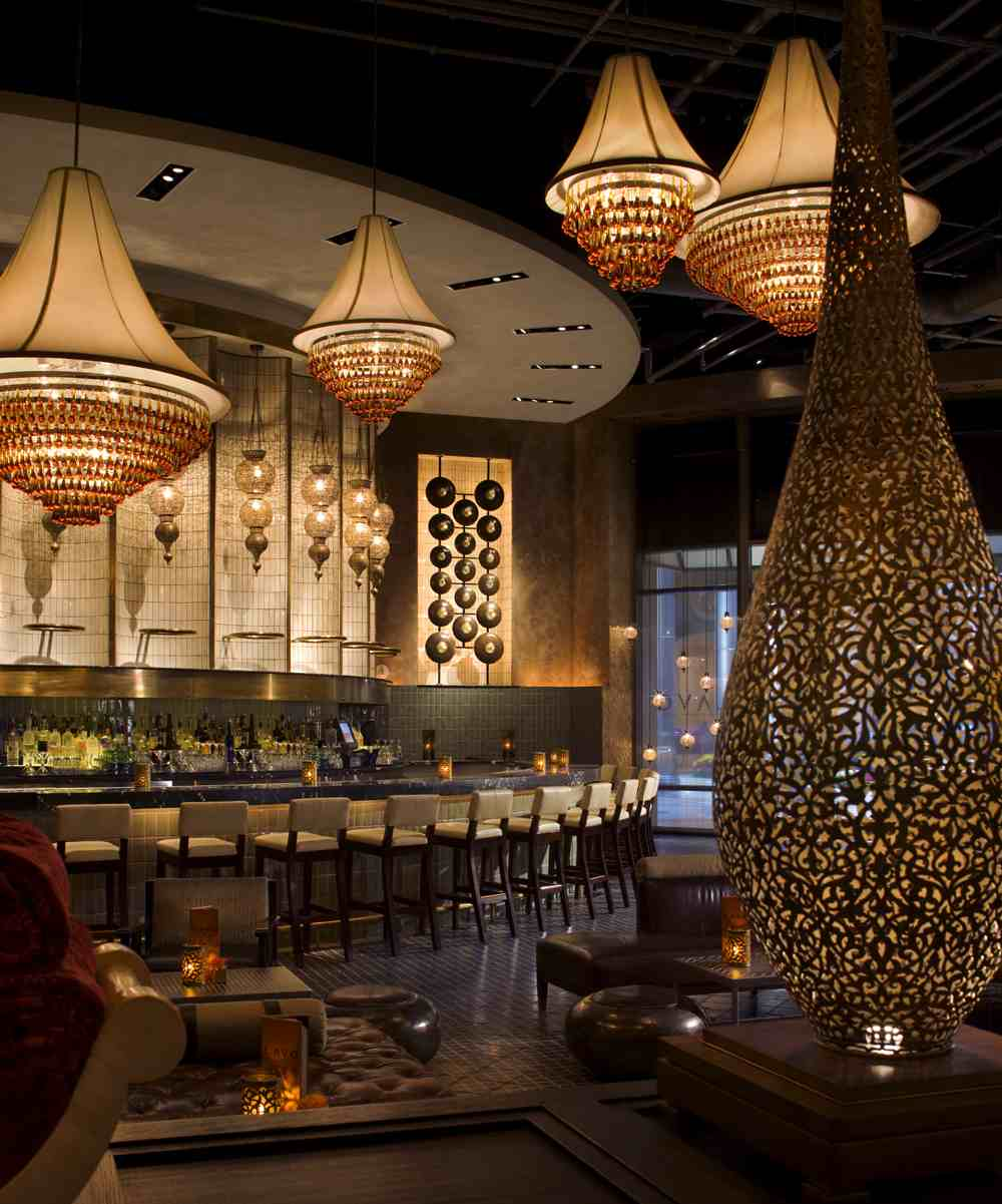 The Divine Dish  HOT LAVO New ultrahip restaurant and