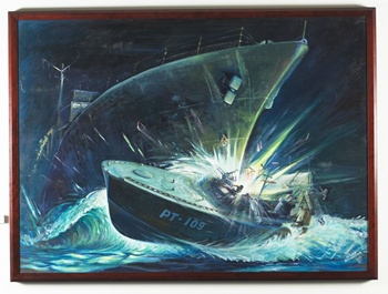 PT 109 Navy Painting