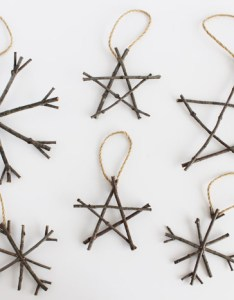 Rustic twig ornaments christmas that are super easy to make also ideas rh thediydreamer