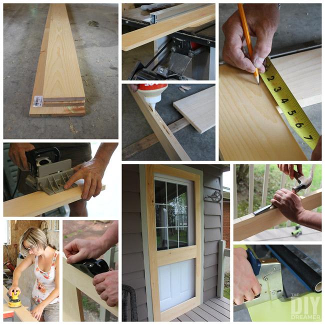 How To Build A Cabin Door