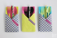 Crafting with Paper: DIY Utensil Holders!