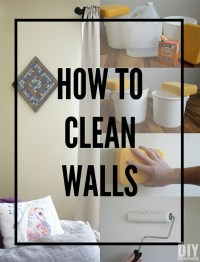 How to Clean Walls - Preparing Walls for Painting
