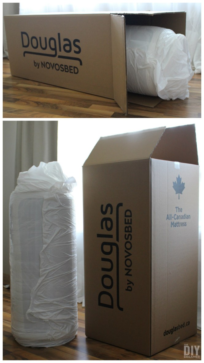 Douglas Mattress By Novosbed Made In Canada And Delivered A Box