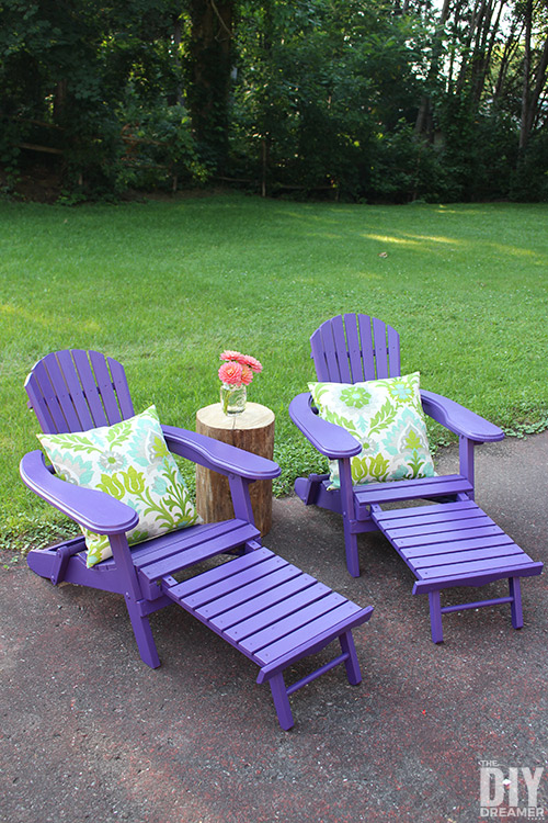 little girls chairs chair covers and sashes hampshire adirondack for kids - colorful outdoor furniture