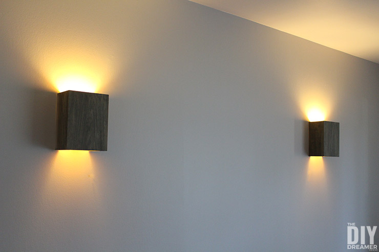 How to Build Wall Light Fixtures: DIY Wood Wall Sconces