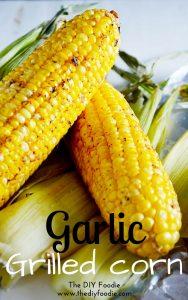 Garlic Grilled Corn