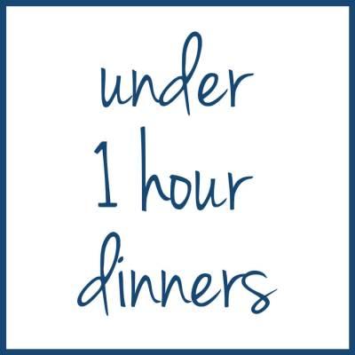 1 hr dinners
