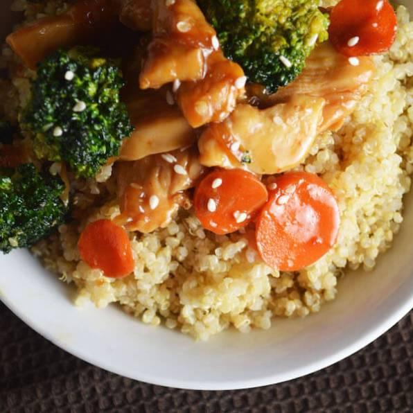 Chicken Quinoa Stir Fry
