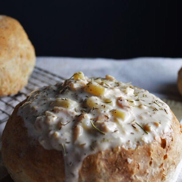 DSC_0646Herbed Bread Bowls