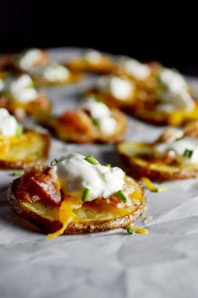 Baked Potato Rounds