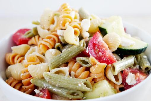 3 Step Pasta Salad
