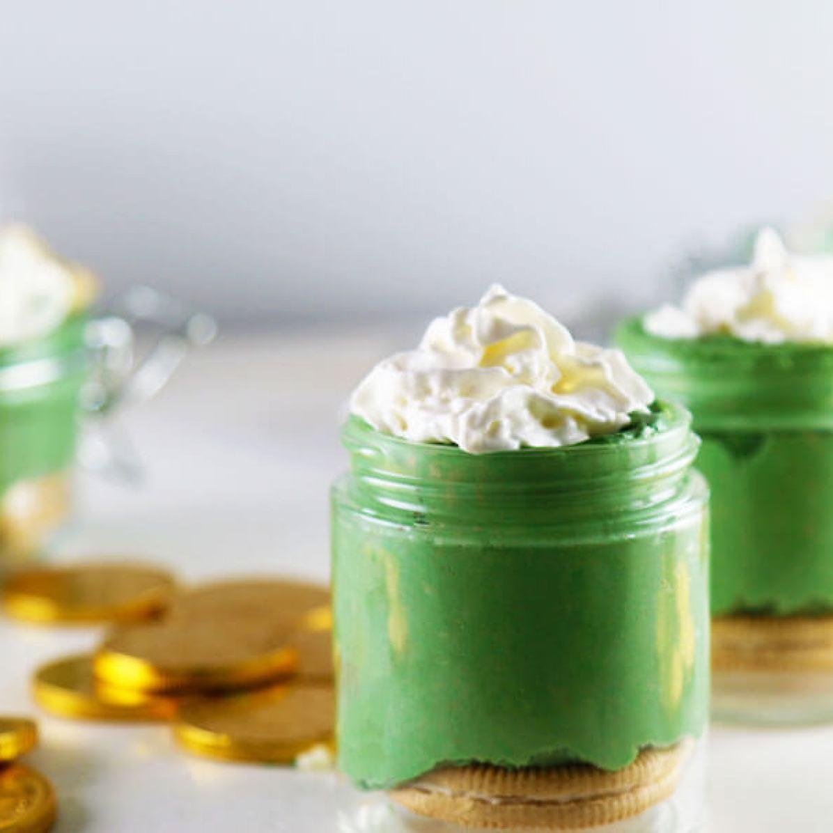 Green Velvet Cheesecake