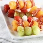 Fancy Melon Appetizers