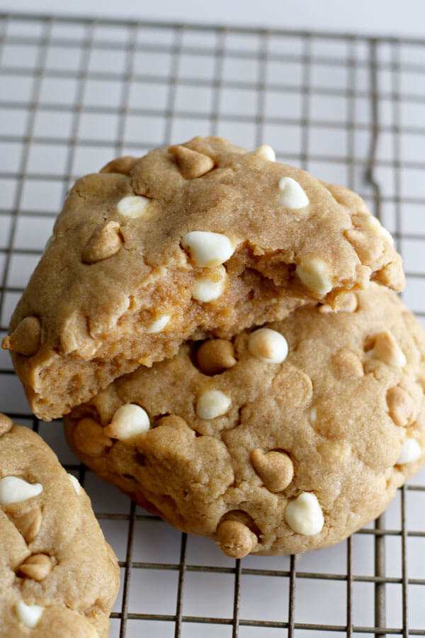 Giant Delicious Peanut Butter Cookies