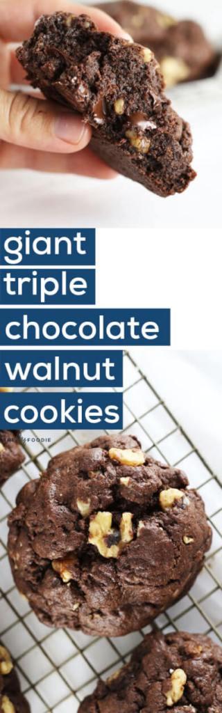 Amazing chocolate walnut cookies!!