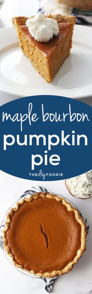 The BEST pumpkin pie! The maple bourbon flavor is amazing.