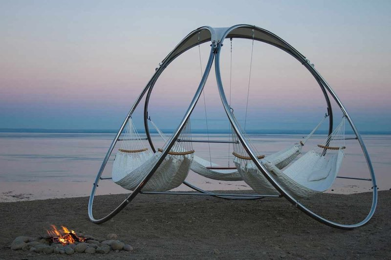 swing chair with stand amazon crown royal 20 coolest hammocks ever - the diy lighthouse