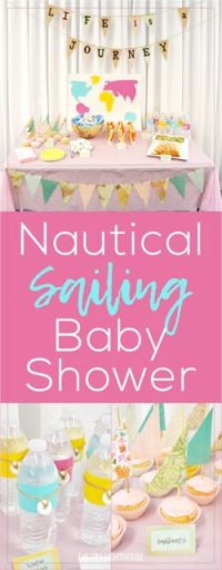 Nautical Sailing Baby Shower Ideas - The DIY Lighthouse
