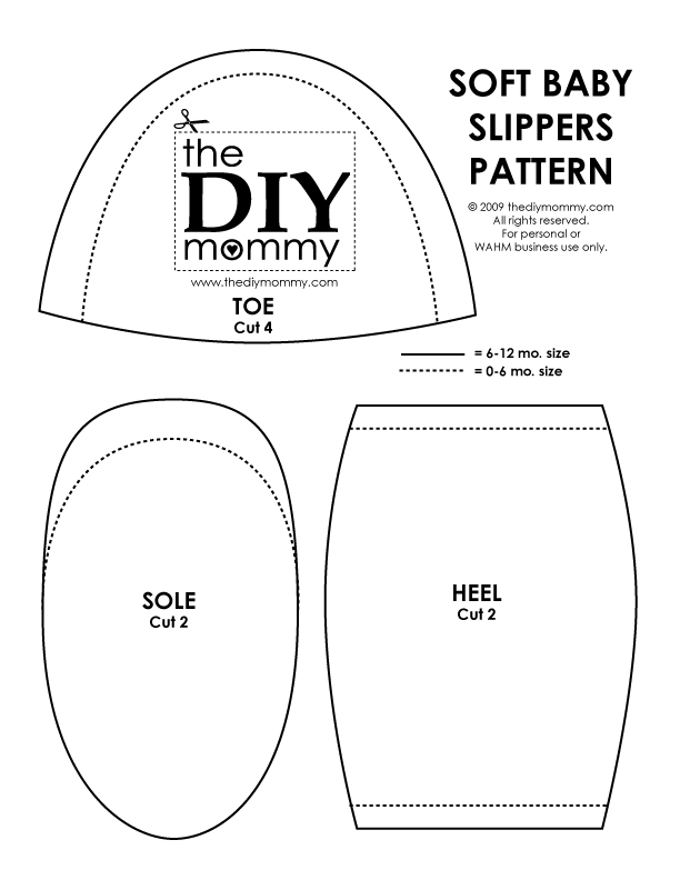 BABY SLIPPERS PATTERNS « Patterns