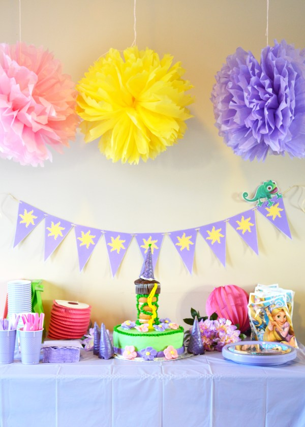 DIY Rapunzel Party Ideas