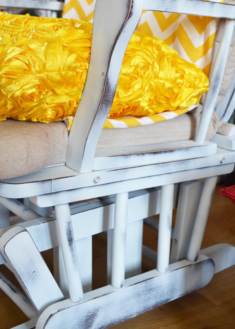 Update a Nursery Glider Rocking Chair